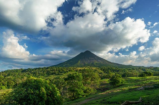 Costa Rica Valcano